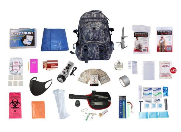 Hunter's Deluxe Survival Kit (72+ Hours, 3 day prepping kit)