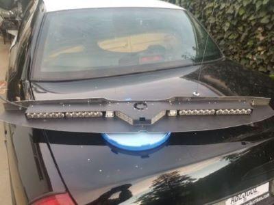 Code 3 Supervisor LED Interior Lightbar Red/ Blue