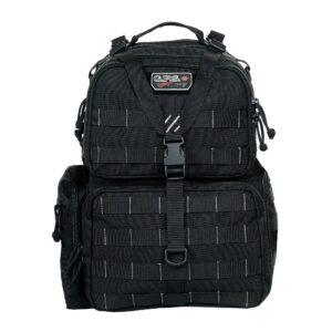 GPS Tactical Range Backpack Pistol Handgun Shooting Range Bag BLK Gun Storage