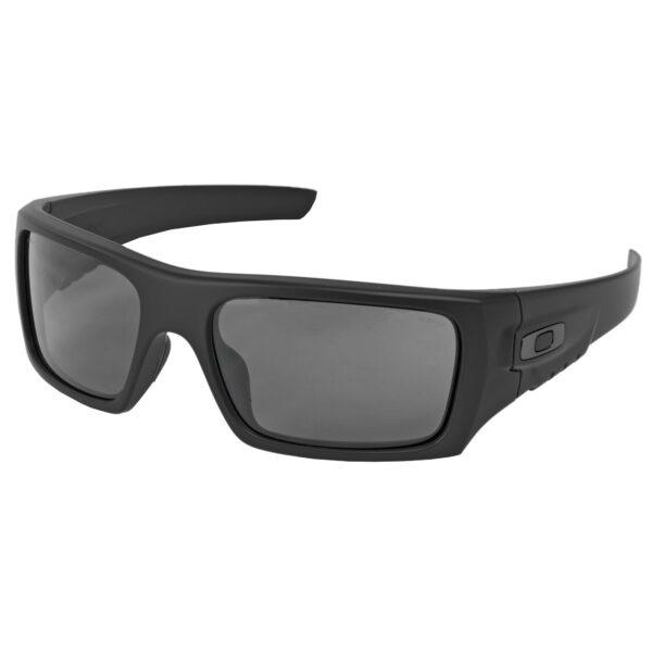 Oakley Standard Issue Ballistic Det Cord Glasses Black Frame w/ Grey Lenses